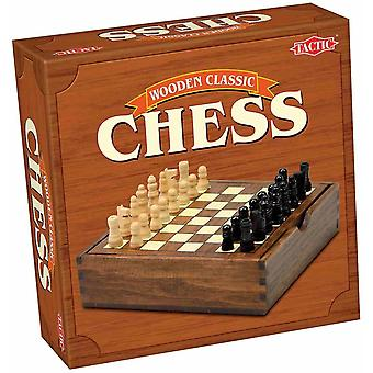 Tile games wooden classic chess