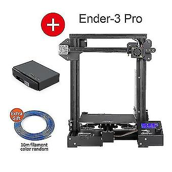 3D printers ender-3 pro 3d printer kit creality 3d upgraded cmagnet build plate meanwell power resume power
