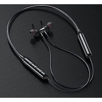 Wireless bluetooth noise reduction earphones for sports, running, ipx5 waterproof(Black)
