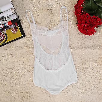Women Sexy Lingerie Lace One-piece Underwear Babydoll Sling Hollow Sleepwear