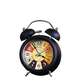 3 tuuman hiljainen herätyskello, opiskelijoiden herätyskello, pieni ja söpö kotikello, yökello (2)