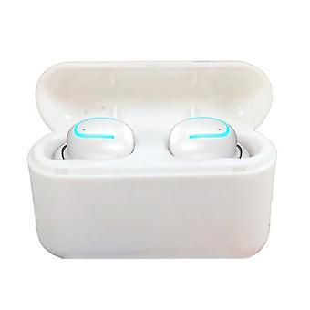 True Wireless Bluetooth Headphones Wireless Charging Case Ipx5 Waterproof Stereo Earphones