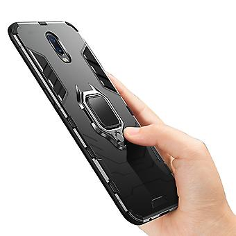 Suitable For Iphone7 Plus/8 Plus Mobile Phone Shell Anti-drop All-inclusive Magnetic Ring Armor