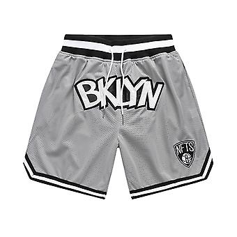 Fashionable Summer Mens Blank Basketball Shorts Embroidery Streetwear Team Outdoor Sport Sandbeach Pants Stitched