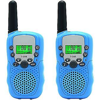 2 pièces de talkie-walkie pour enfants Jouet radio bidirectionnel 3 Miles Range