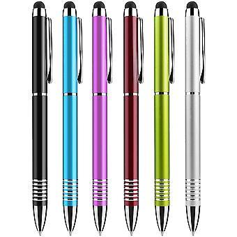 6ks Stylus Pero pre Kindle iPad Samsung Htc Tablety Náhodná farba