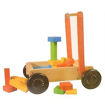 27Pcs puinen Push Cart