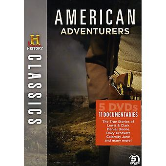 American seikkailijoita [DVD] Yhdysvallat tuoda