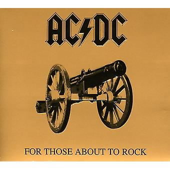 AC/DC - For Those About to Rock We Salute You [CD] USA importare