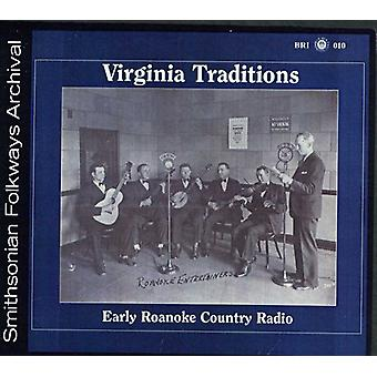 Virginie Traditions - début Roanoke Country Radio [CD] USA import
