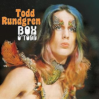 Todd Rundgren - Box o ' Todd [CD] USA import