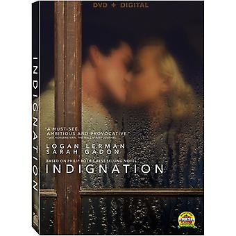 Importación de USA de indignación [DVD]