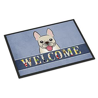 French Bulldog Welcome Indoor or Outdoor Mat 24x36