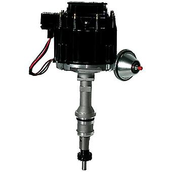 Proform 66983BK Vacuum Advance HEI Distributor with Steel Gear and Black Cap for Ford 351 Windsor