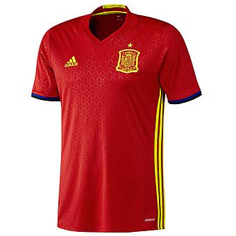 2016-2017 Španělsko Home adidas fotbalové tričko
