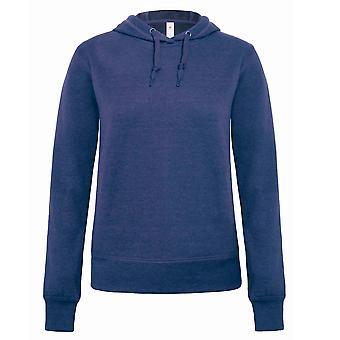 B & C Denim Womens/damer universum Hooded Sweatshirt/Hoodie