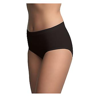 BlackSpade 1312 Women's Black Knickers Panty Brief 3 Pack