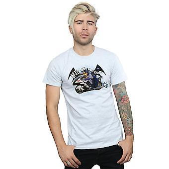 DC Comics Batman serie TV Bat moto t-shirt