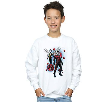 Marvel Boys Ant-Man And The Wasp Particle Pose Sweatshirt