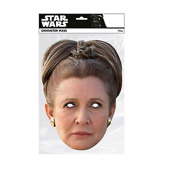 Princess Leia Organa Star Wars The Last Jedi  Single 2D Card Party Fancy Dress Mask