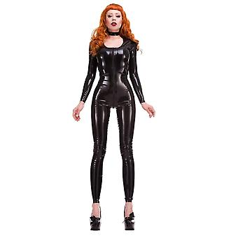 Vers l'Ouest lié Label Rouge - Mia Scoop cou en Latex Catsuit