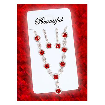 Jewelry and crowns  Jewels set Princess red