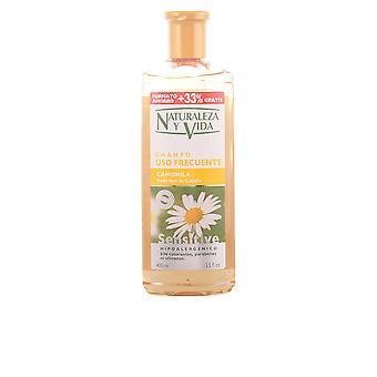 Naturaleza Y Vida Shampoo Gevoelige Camomila 300+100 Ml Unisex