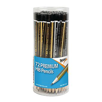 Tiger Stationery Premium HB Pencils