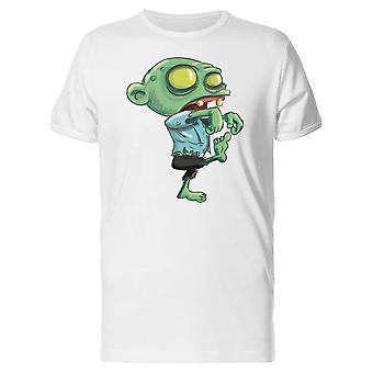 Зеленый пешком зомби Tee мужчин-изображений Shutterstock
