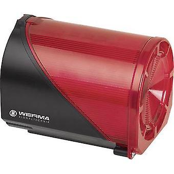 Werma Signaltechnik Saunder Combo 444.110.68 Rojo 230 V AC 114 dB