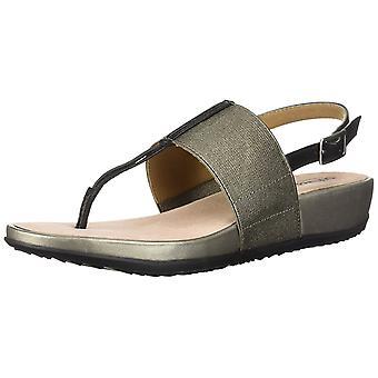 SoftWalk Womens Daytona Leather Open Toe Casual Slingback Sandals