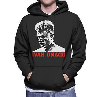 Ivan Drago Movie Poster Rocky IV Herren Sweatshirt mit Kapuze