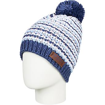 Roxy Womens Anamudi Pom Pom Warm Winter Ski Beanie Hat