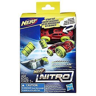 Nerf Nitro Stunt BarrelSlam conjunto