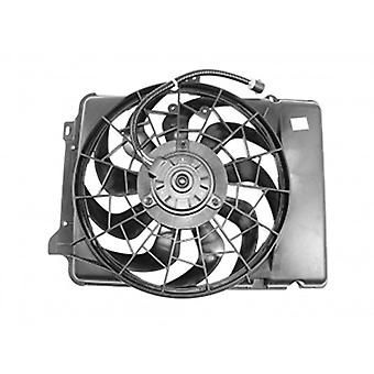 APDI 6018115 Dual Radiator and Condenser Fan Assembly