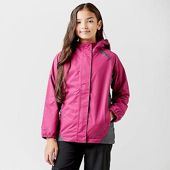 New Peter Storm Girl's Full Zip Long Sleeve Panel Jacket Pink
