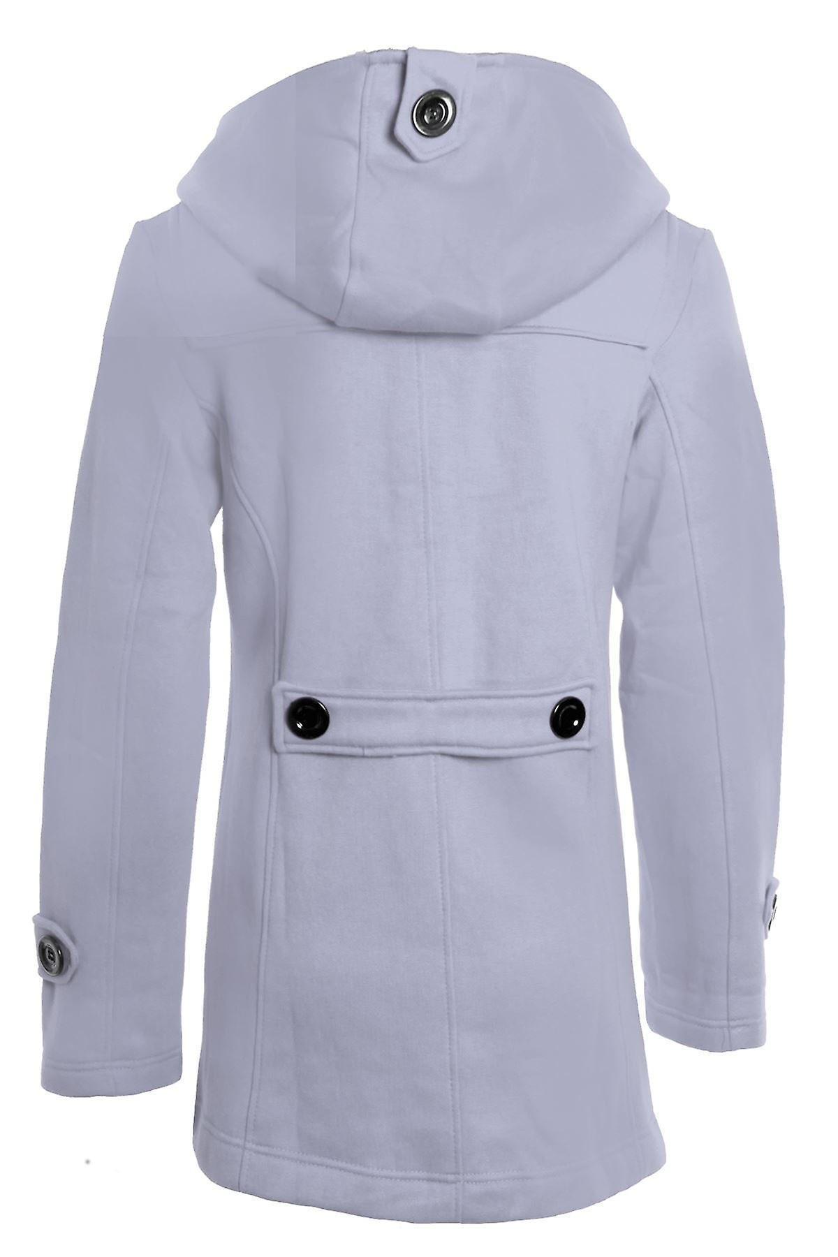 Uusi naisten duffeli kaivannon Hupparitakki Pocket Naisten takki