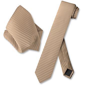 维苏维奥那不勒斯瘦领带条纹垂直条纹男装脖子领带 & 手帕