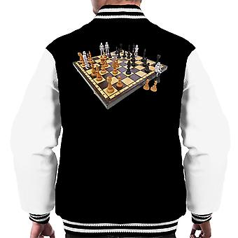 Original Stormtrooper Chess Board Men's Varsity Jacket