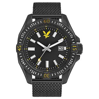Lyle and Scott Tactical Watch - Black/Black