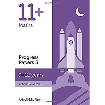 11+ Maths Progress Papers Book 3 - KS2 - Ages 9-12 - 9780721714585 Book