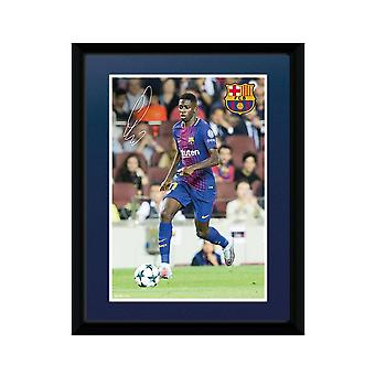 FC Barcelona Dembele 8 x 6 Picture
