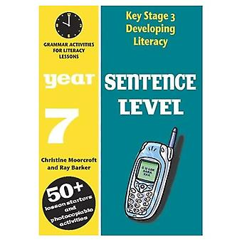 Developing Key Stage 3 Literacy: Sentence Level Year 7: Grammar Activities for Literacy Lessons (Developing Literacy)