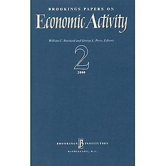 Brookings Papers på ekonomisk verksamhet: 2000 2 (Brookings legitimationshandlingar på ekonomisk verksamhet)