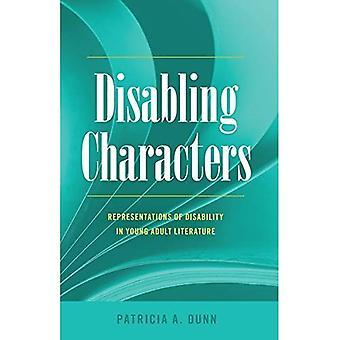 Incapacidad de caracteres: Representaciones de la discapacidad en literatura joven del adulto (estudios de discapacidad en la educación)