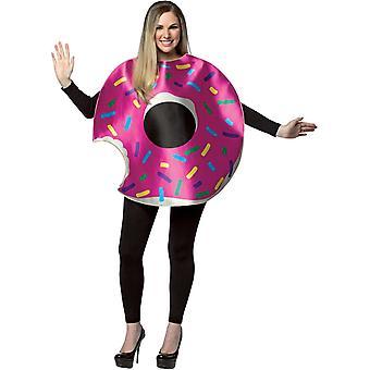 Strawberry Doughnut Adult Costume