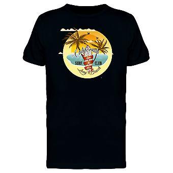 ロング ビーチ サーフィン クラブ カリフォルニア t シャツ メンズ-シャッターによる画像