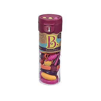 B. jouets beauté pop bijoux artisanat Set - framboise
