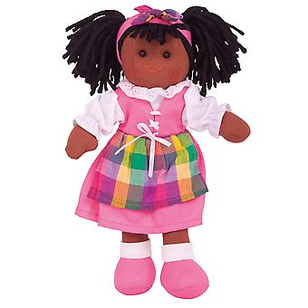 Bigjigs Toys Soft Plush Jess Doll (28cm) Ragdoll Cuddly Toy