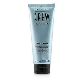American Crew Men Fiber Cream Fibrous Cream (medium Hold And Natural Shine) - 100ml/3.3oz